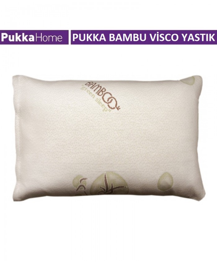 Yastik Bambu Visco - Pukka Bambu Visco Dolgulu Yastık