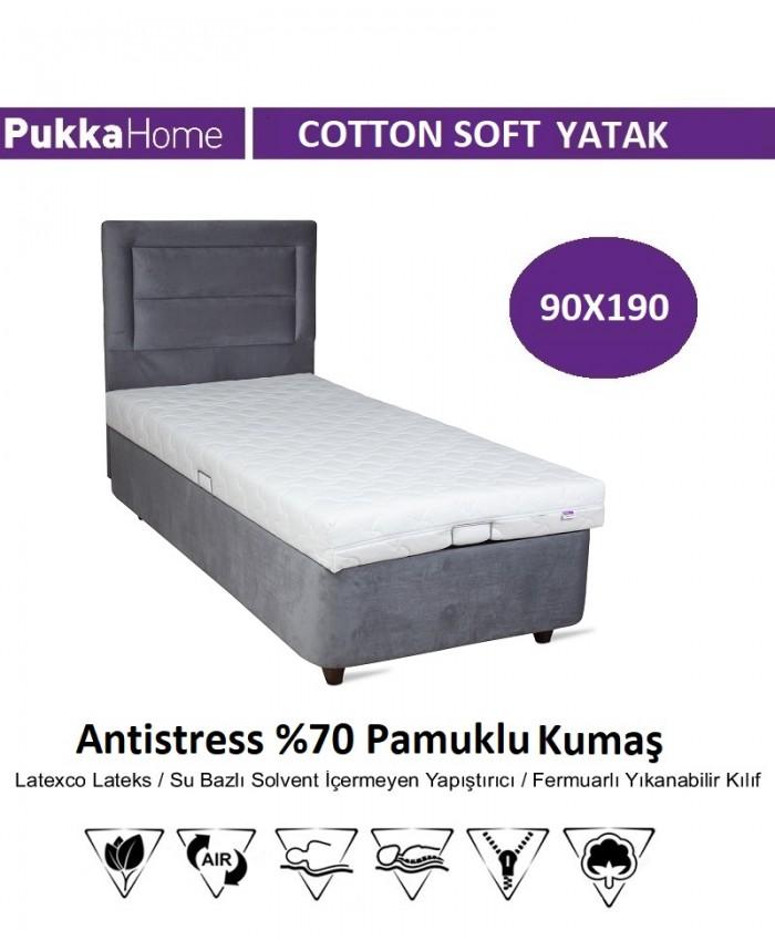 Cotton Soft 90X190 - Pukka Cotton Soft Yatak