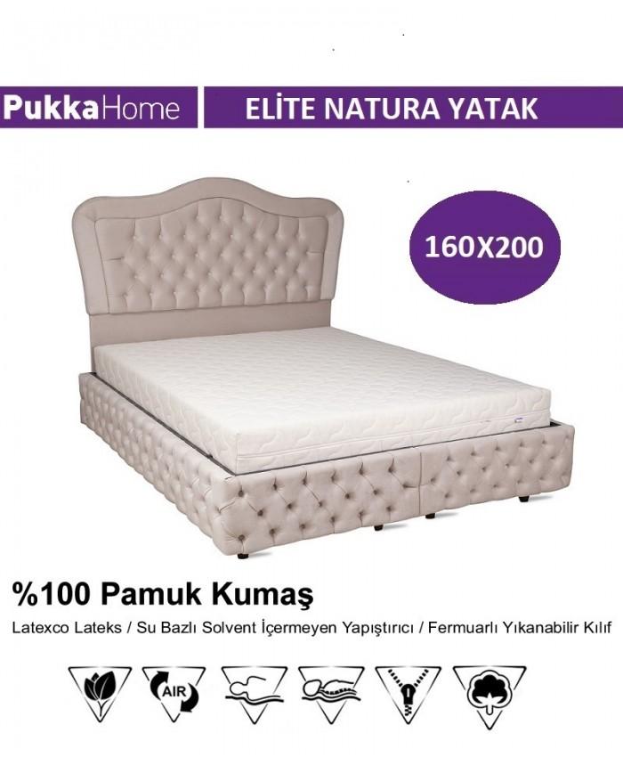 Elite Natura 160X200 - Pukka Elite Natura Yatak