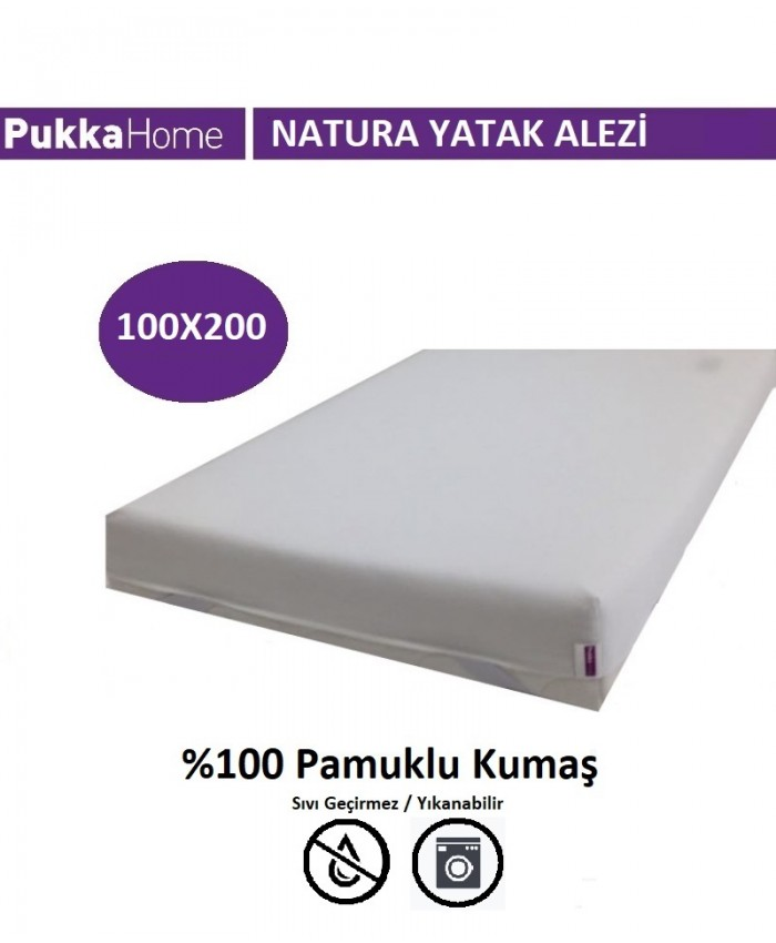 Natura Alez 100X200 - Pukka Natura Yatak Alezi
