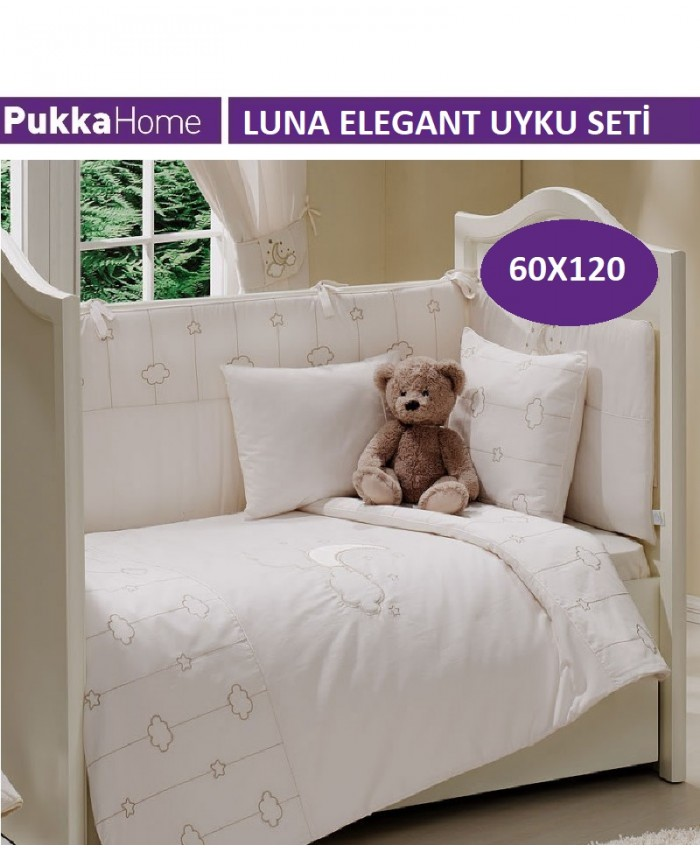 Set Luna 60X120 - Luna Elegant Uyku Seti